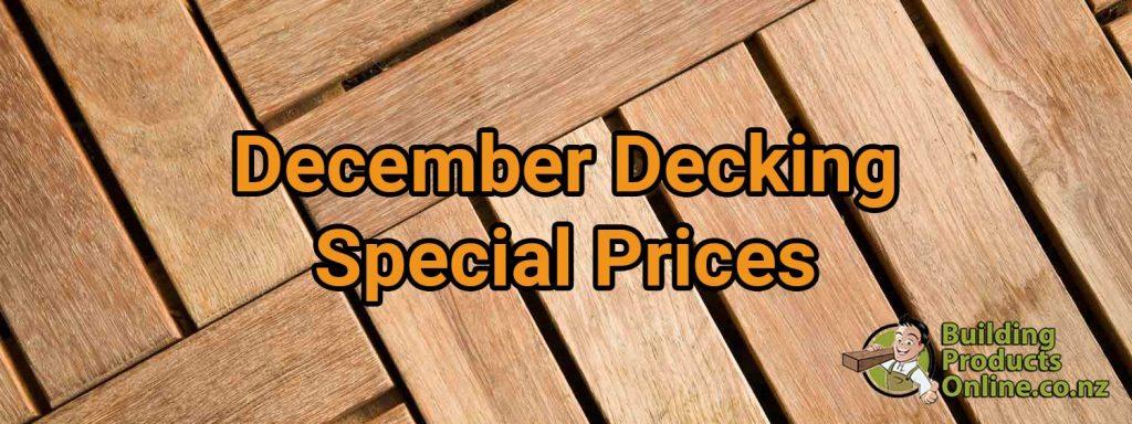 December Decking Deals